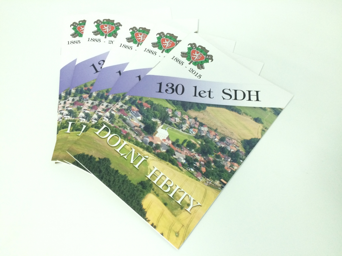 SDH Dolní Hbity - Brožura