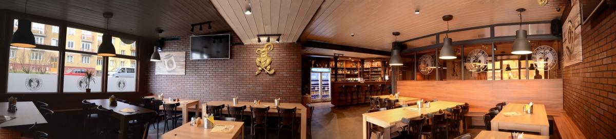 Restaurace U Starýho kozla - Fotografování interiéru