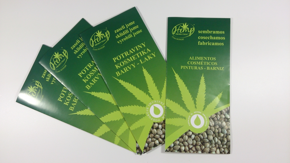 Hemp Production - Letáčky