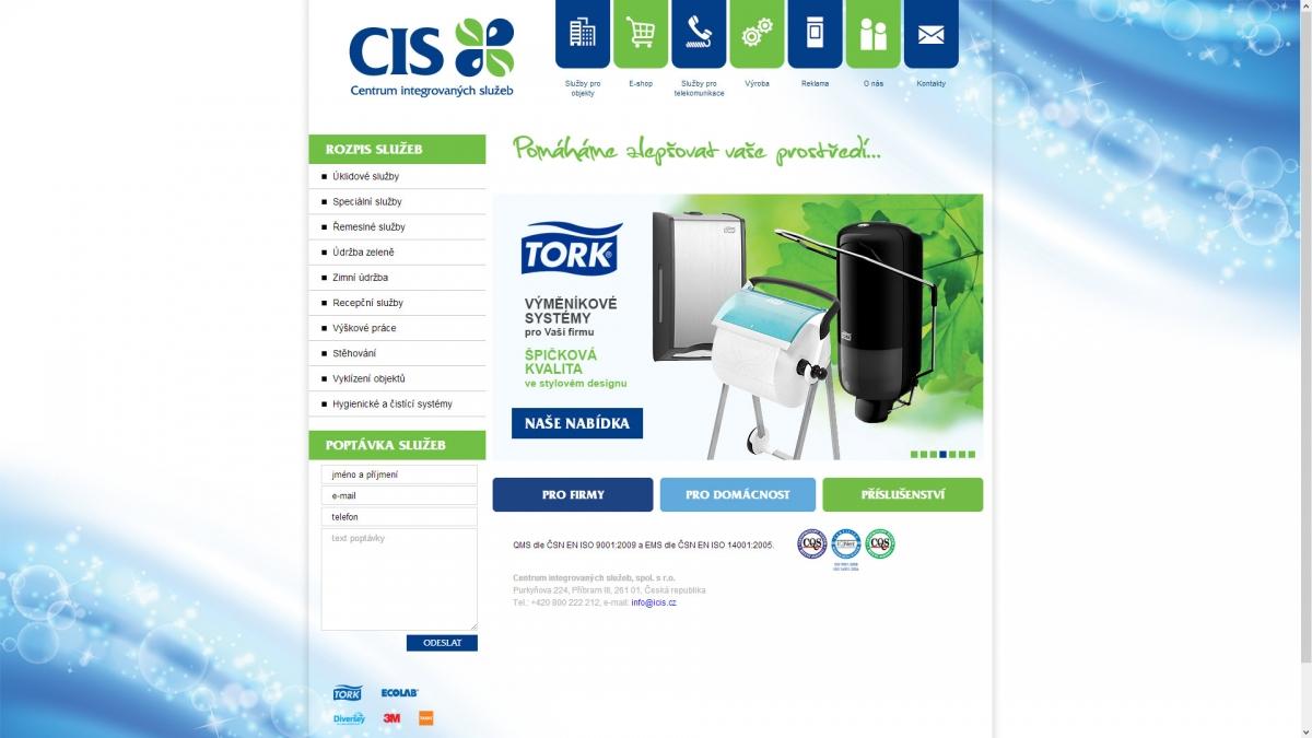 Webové stránky iCIS.cz