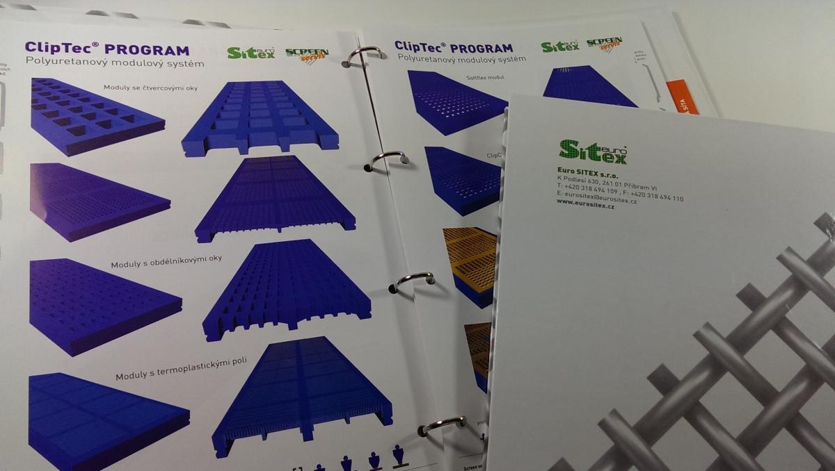 Produktový šanon pro Euro Sitex