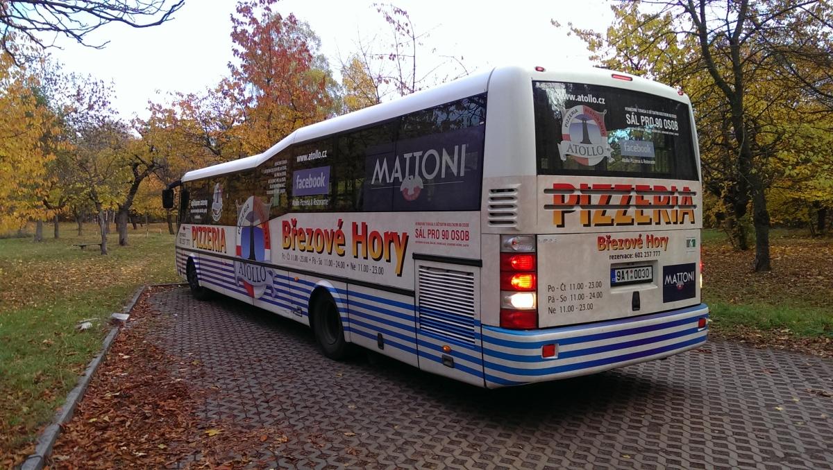 Pronájem autobusu MHD pro Atollo