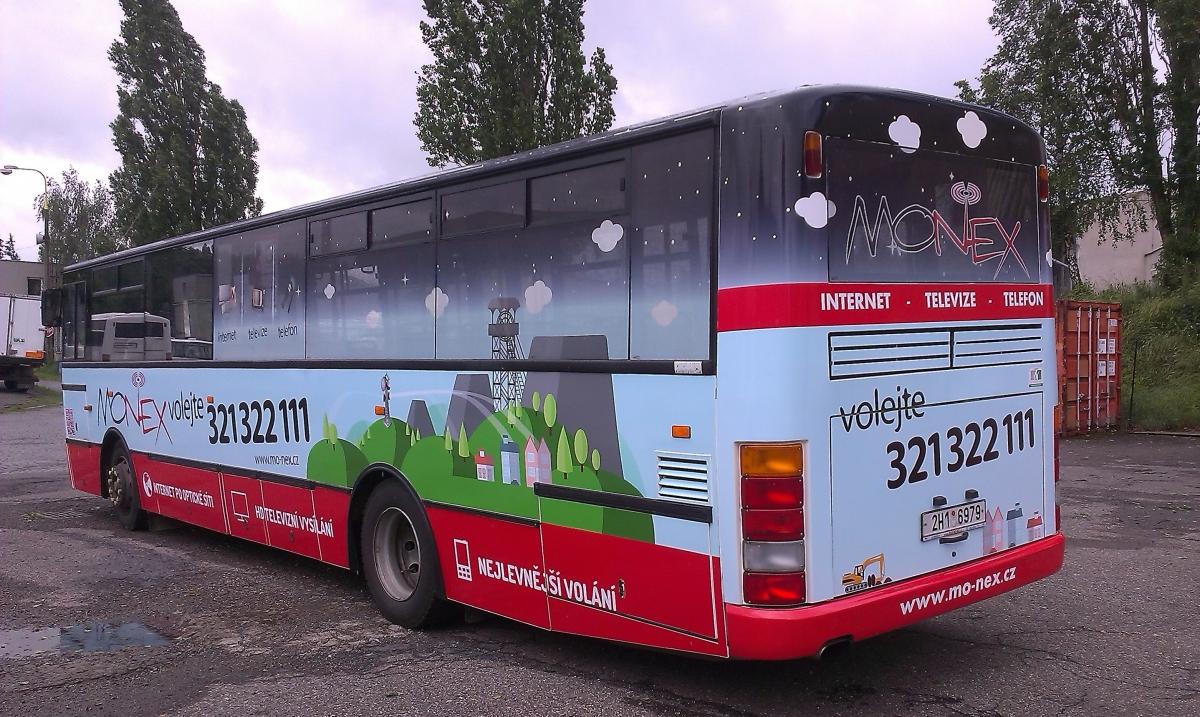 Kompletní dodávka autobusu MHD pro Monex