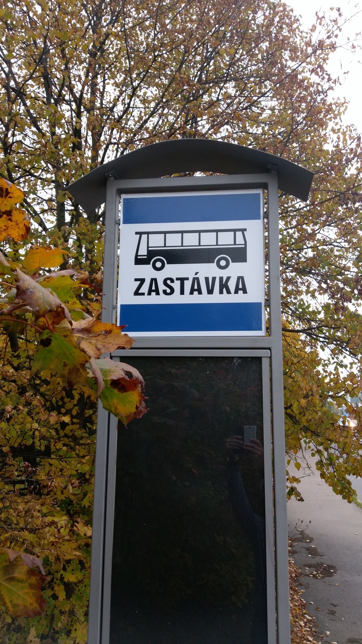 Označení autobusových zastávek