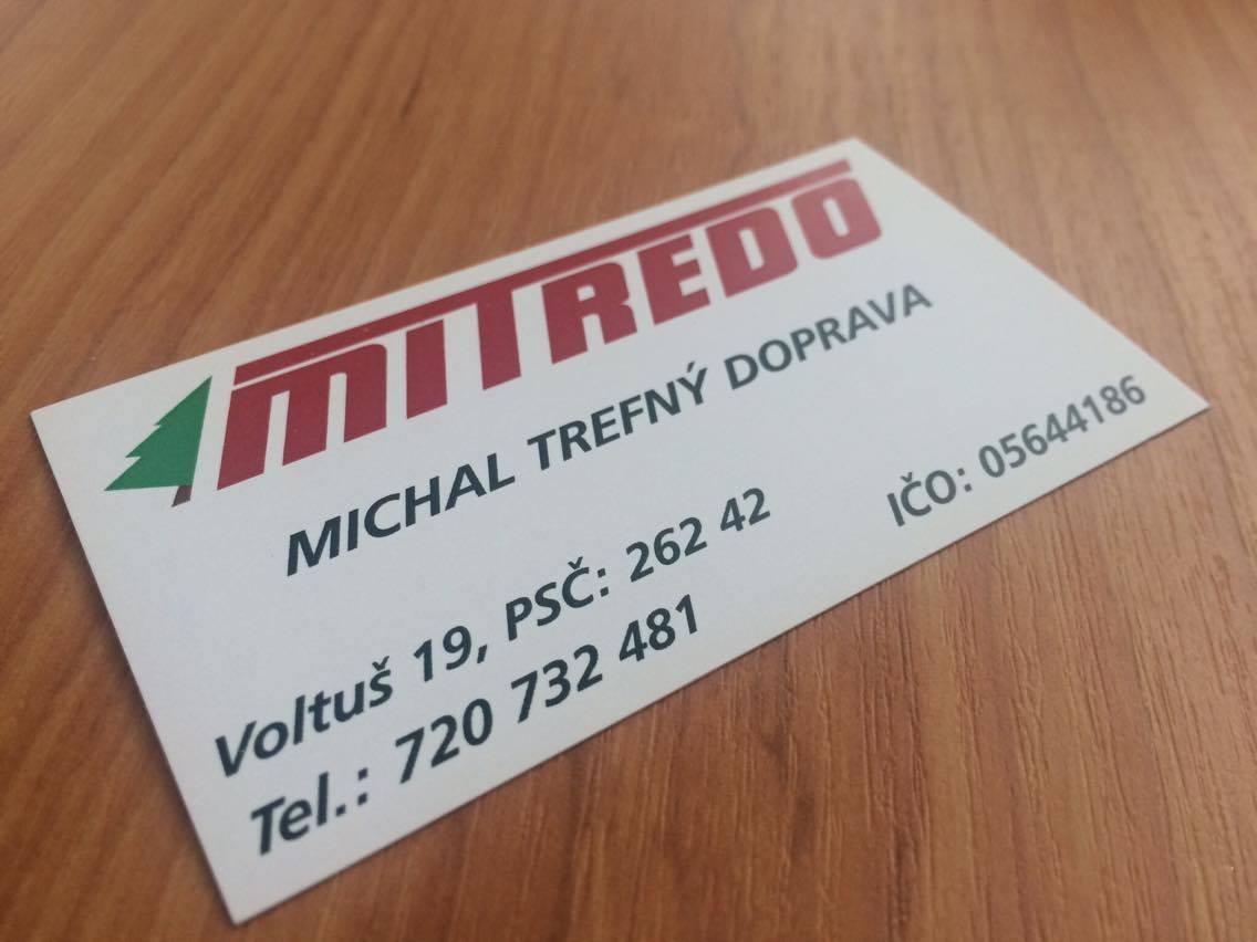 Mitredo - Vizitky