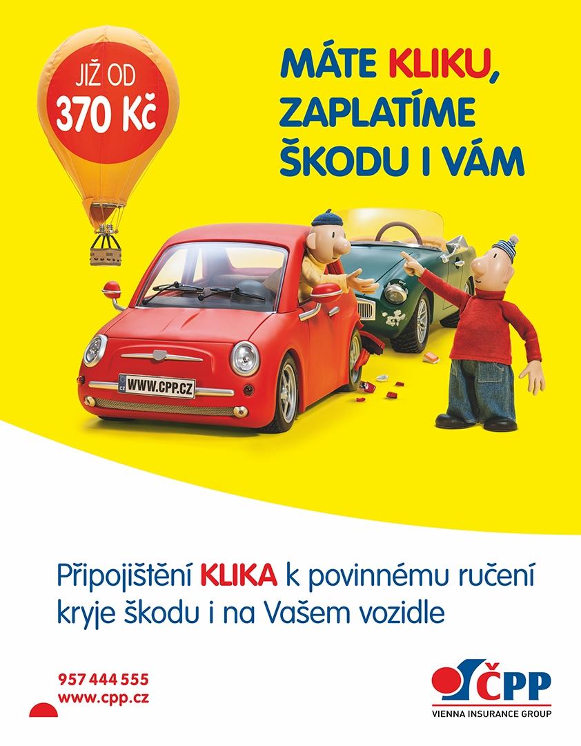 Česká podnikatelská pojišťovna - Tisk OOH kampaně