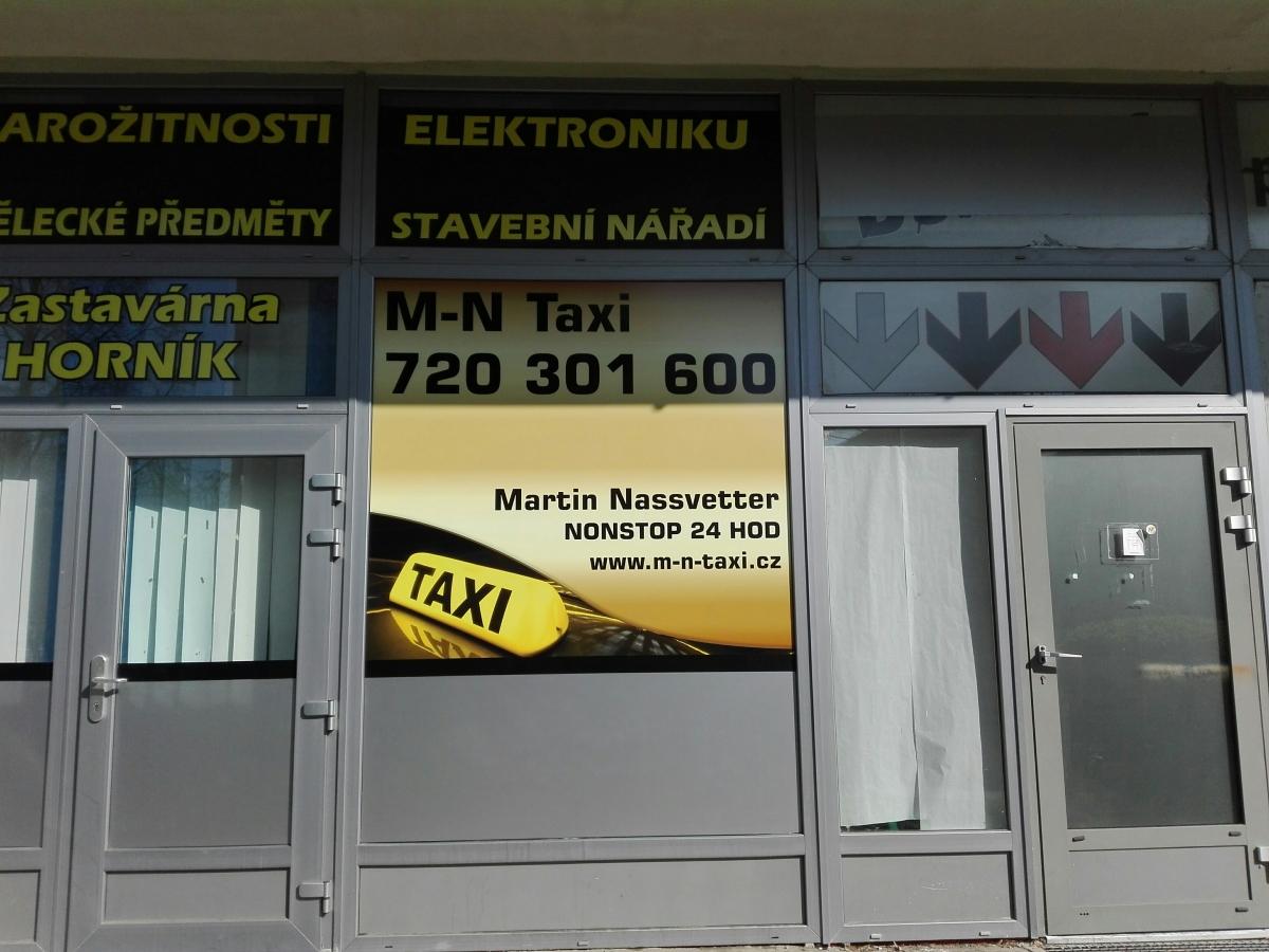 M-N Taxi - Samolepa