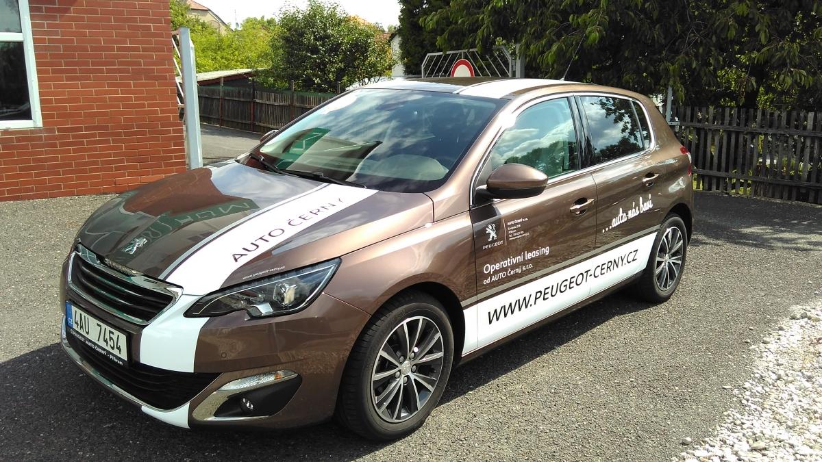 Peugeot Příbram - Polep automobilu