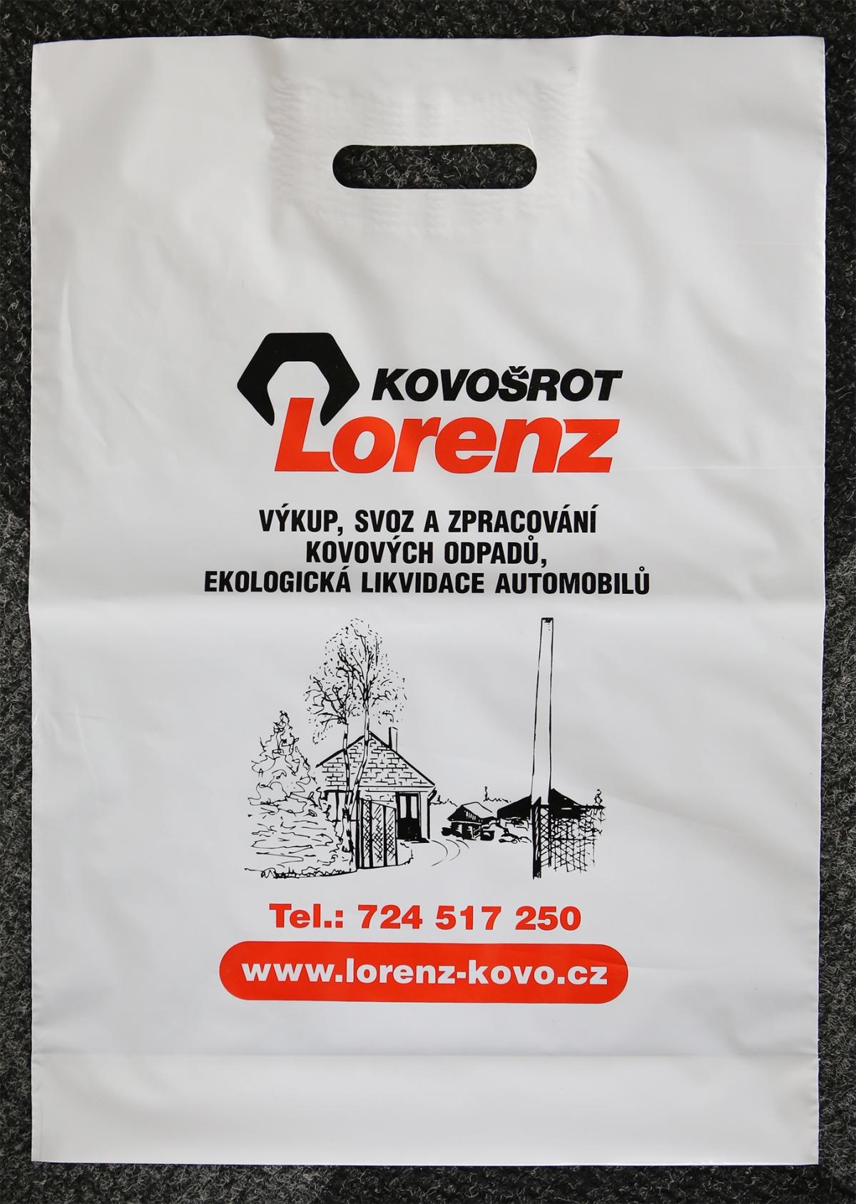 Kovošrot Lorenz - Igelitové tašky