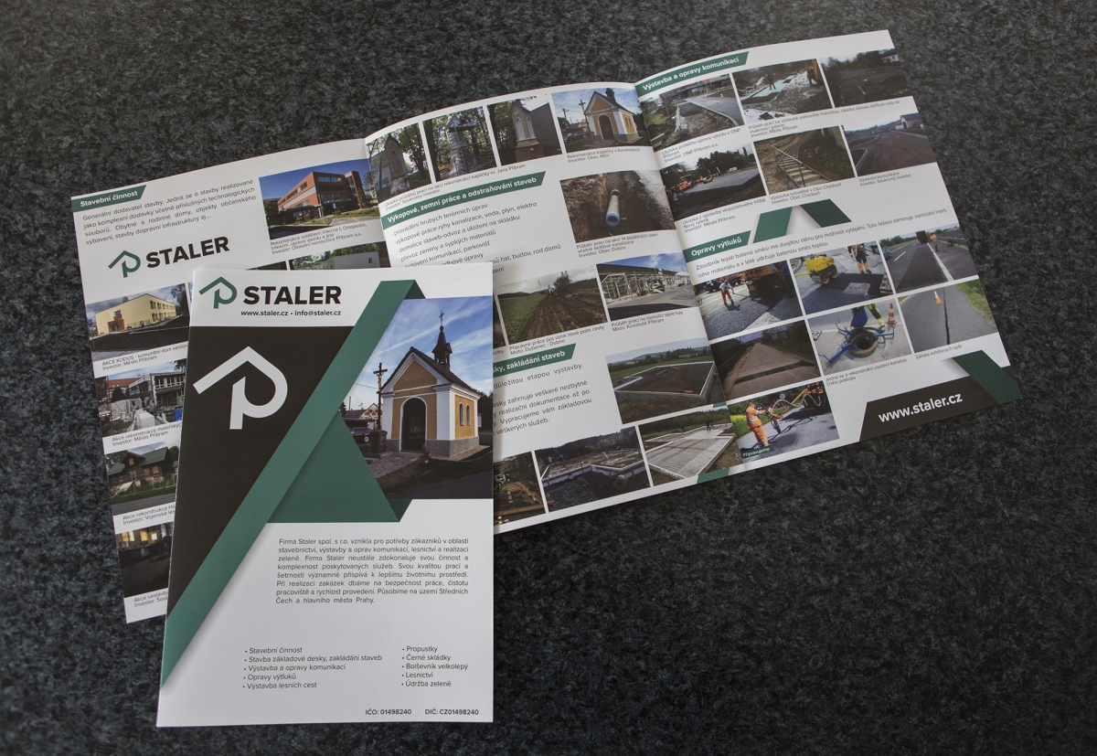 Staler - Brožura
