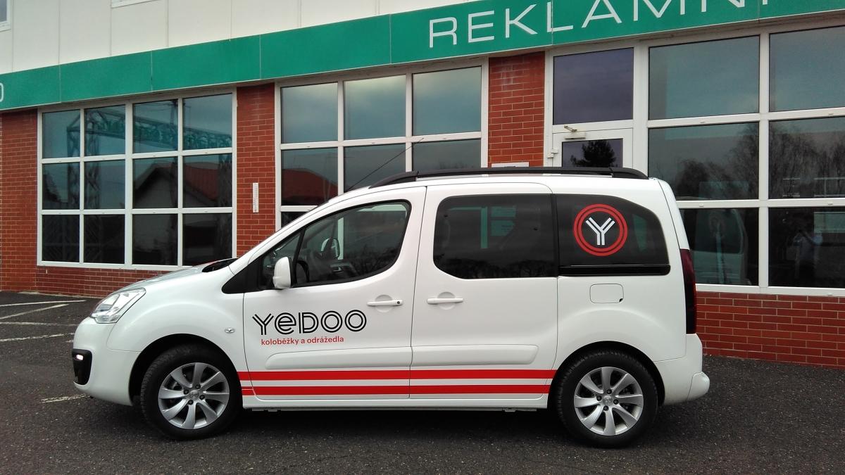 Intrea-Piko spol. s r.o. - Polep Vozu Peugeot Partner