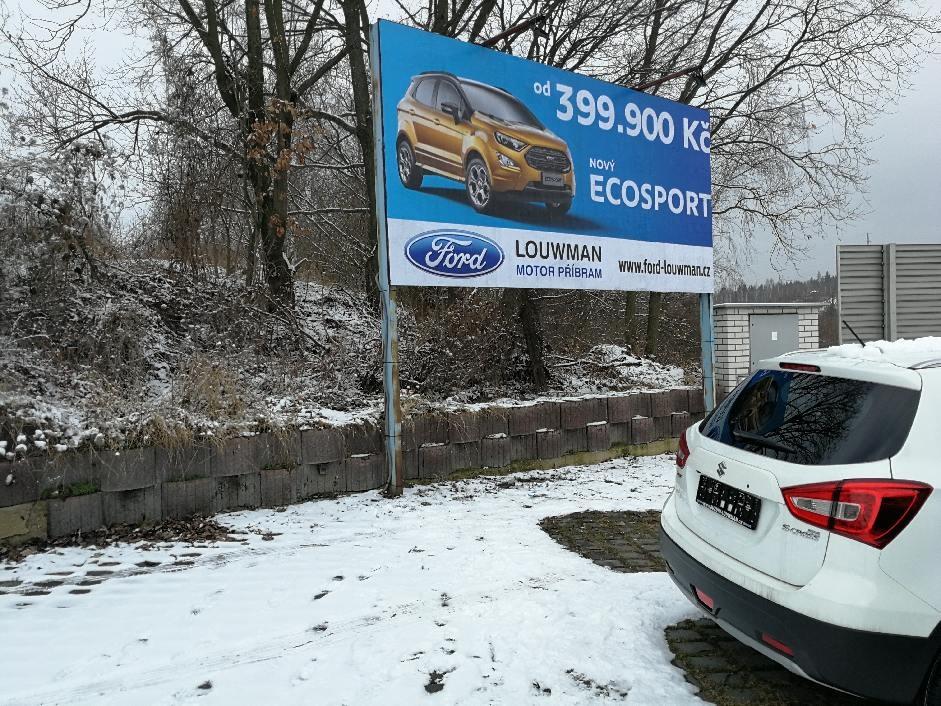Ford Louwman Příbram - Billboard