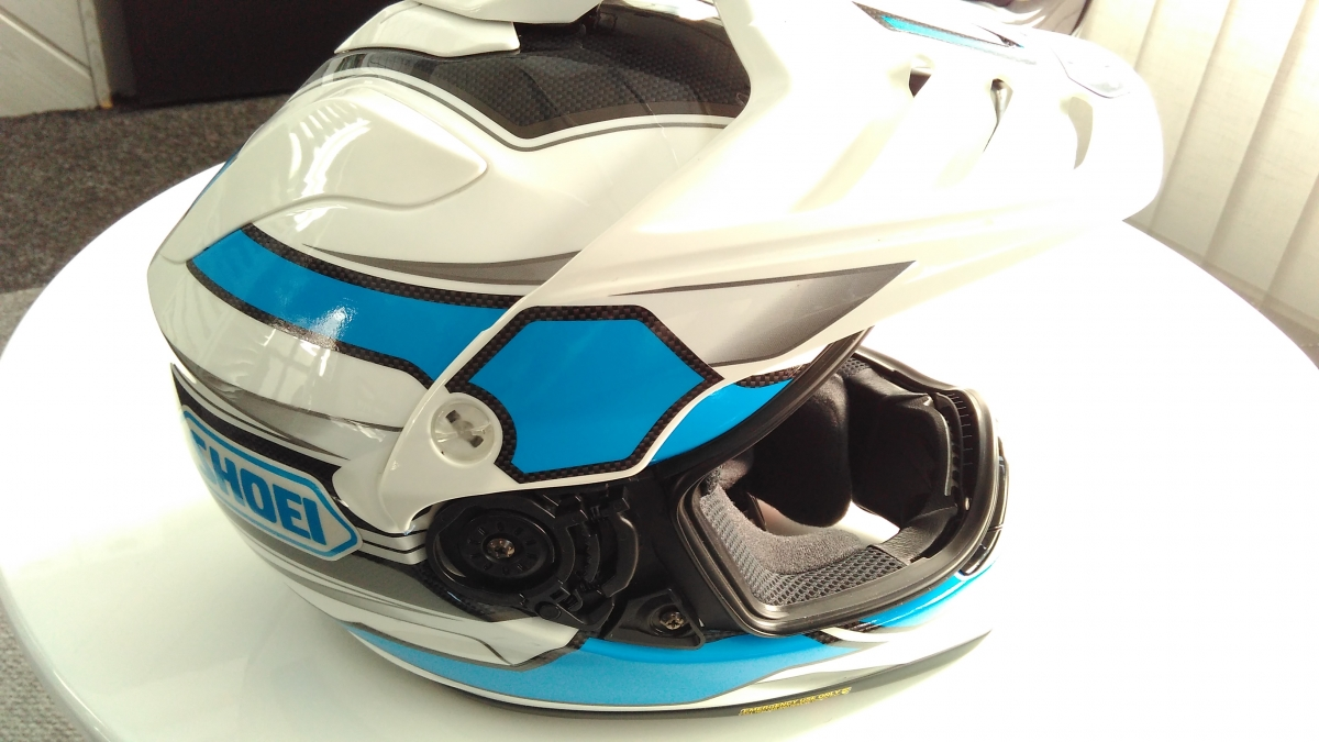 klient - Polep motocyklové helmy