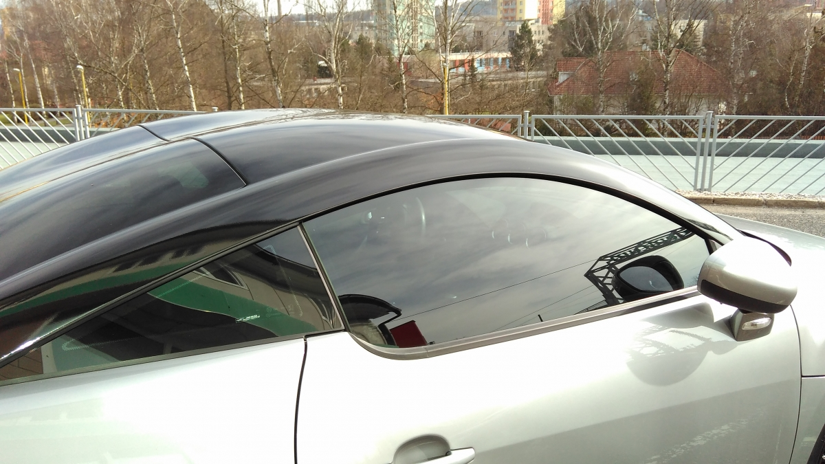 Auto Černý Příbram - Polep vozu Peugeot RCZ