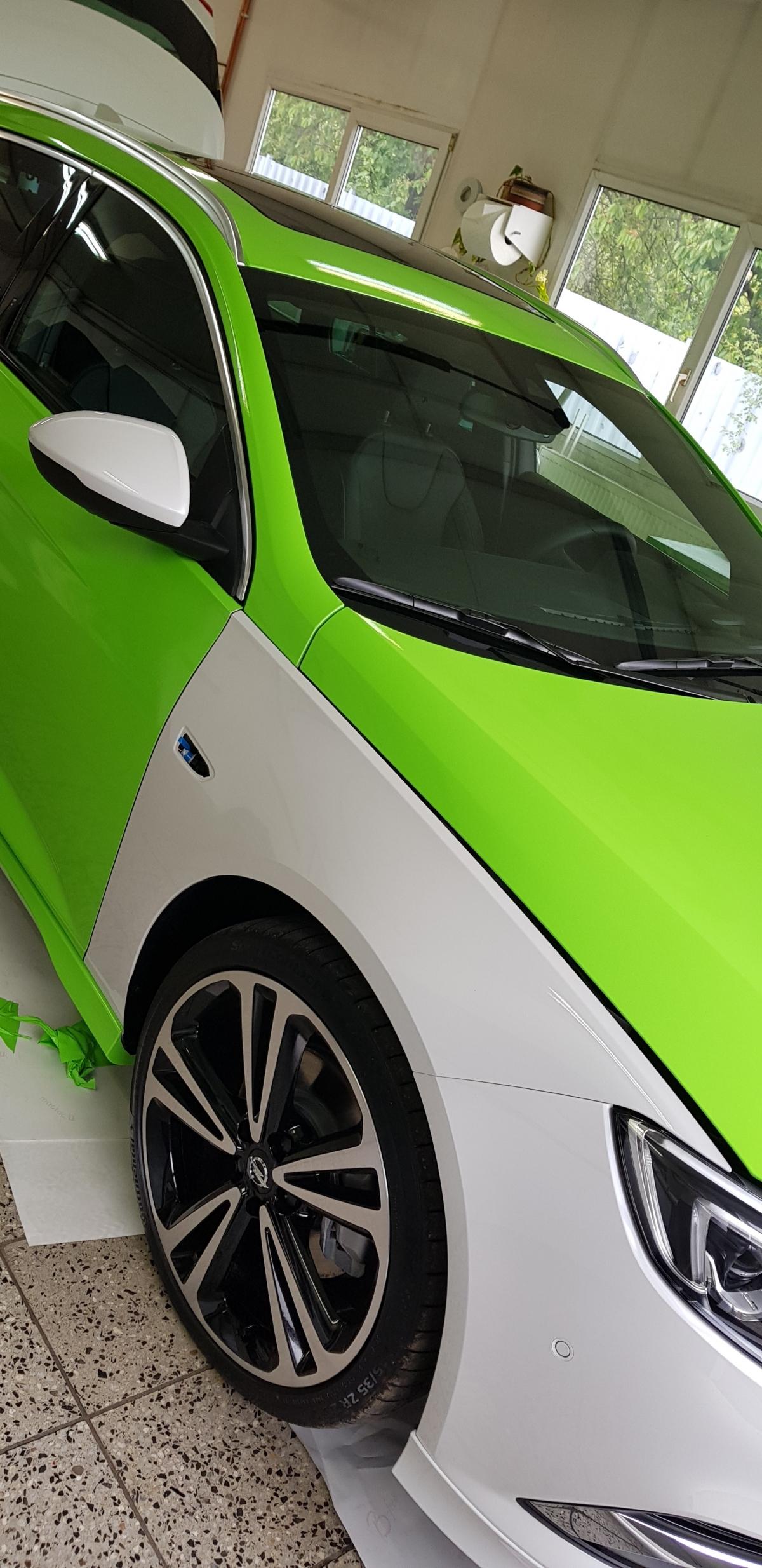 Celopolep vozu Opel Insignia