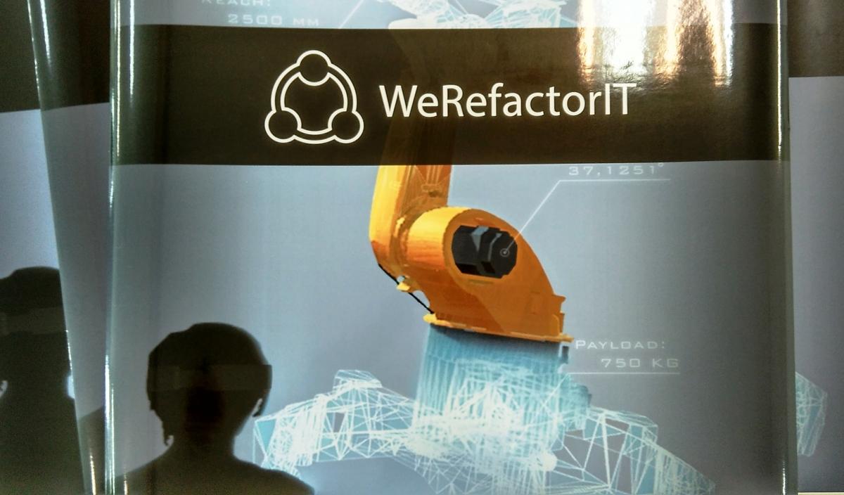 Werefactor IT - Samolepy velký formát