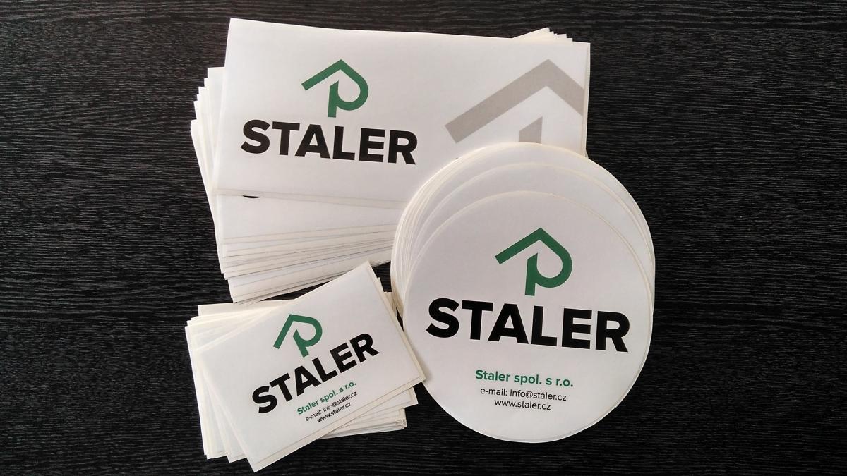 Staler - Samolepky a polep firemního vozu