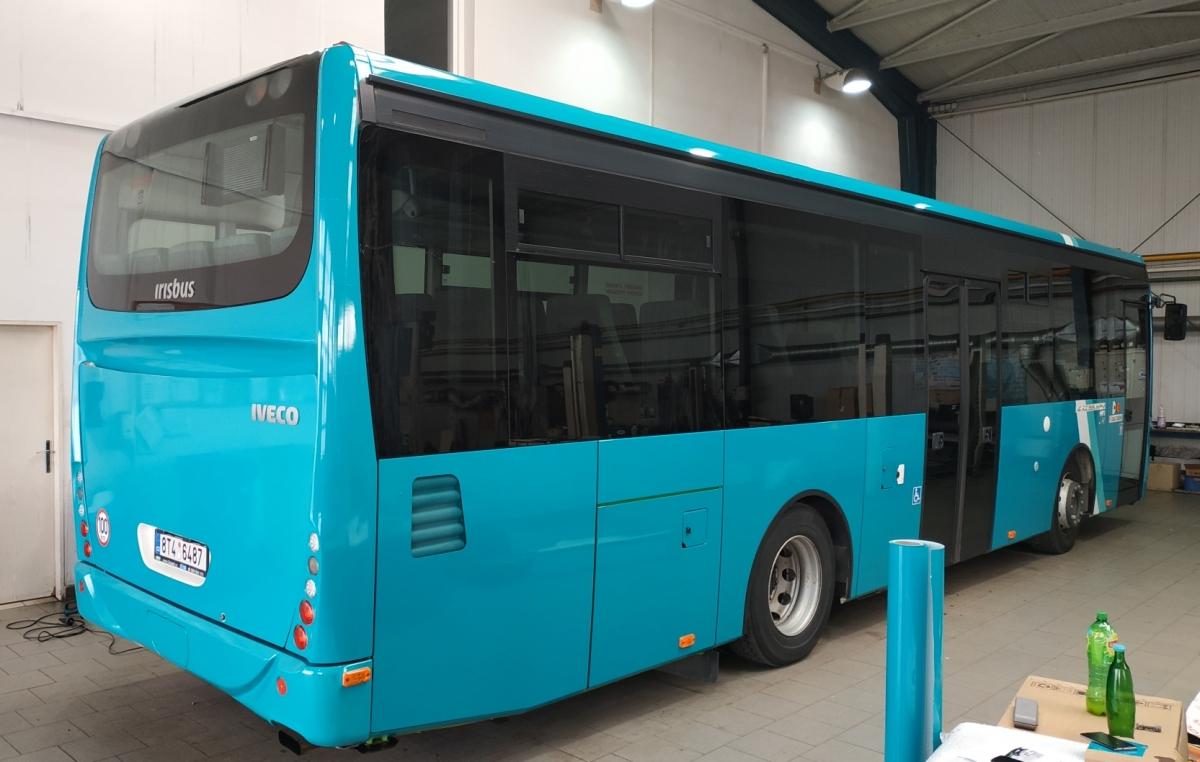 Arriva Střední Čechy - Polepy autobusů Iveco