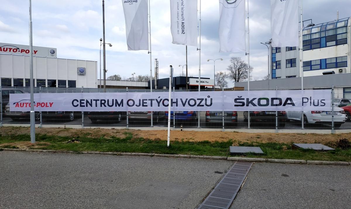 Auto Poly Příbram - Banner 17x1m