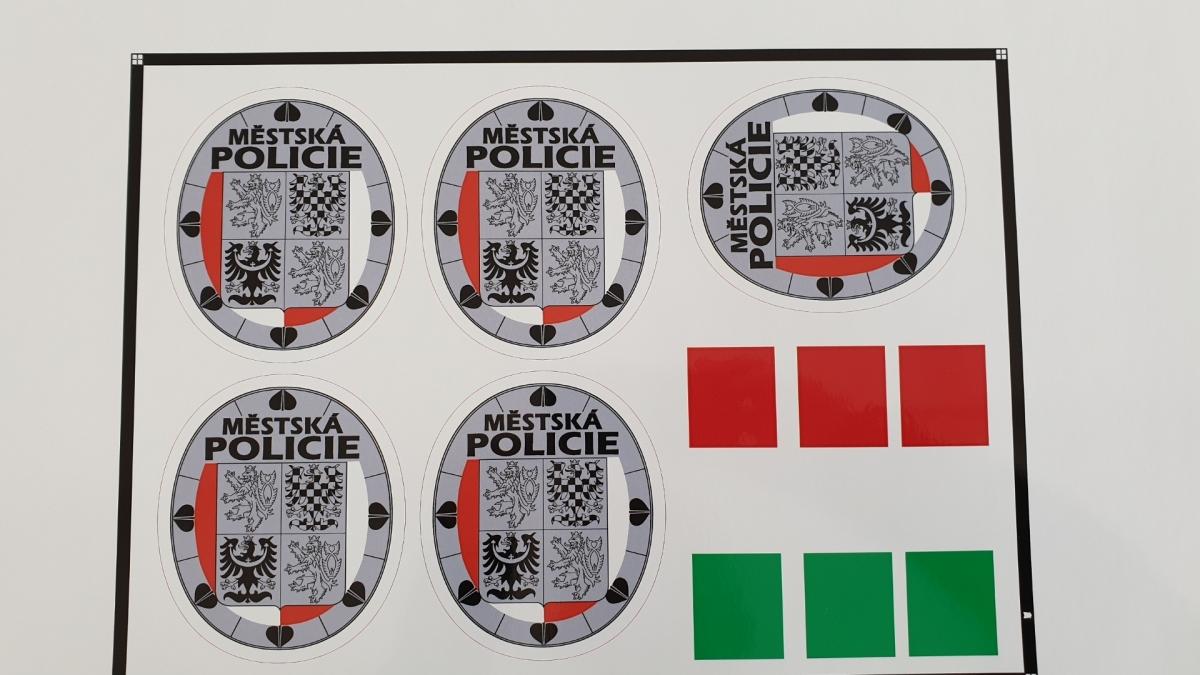 Znak Městské policie Příbram