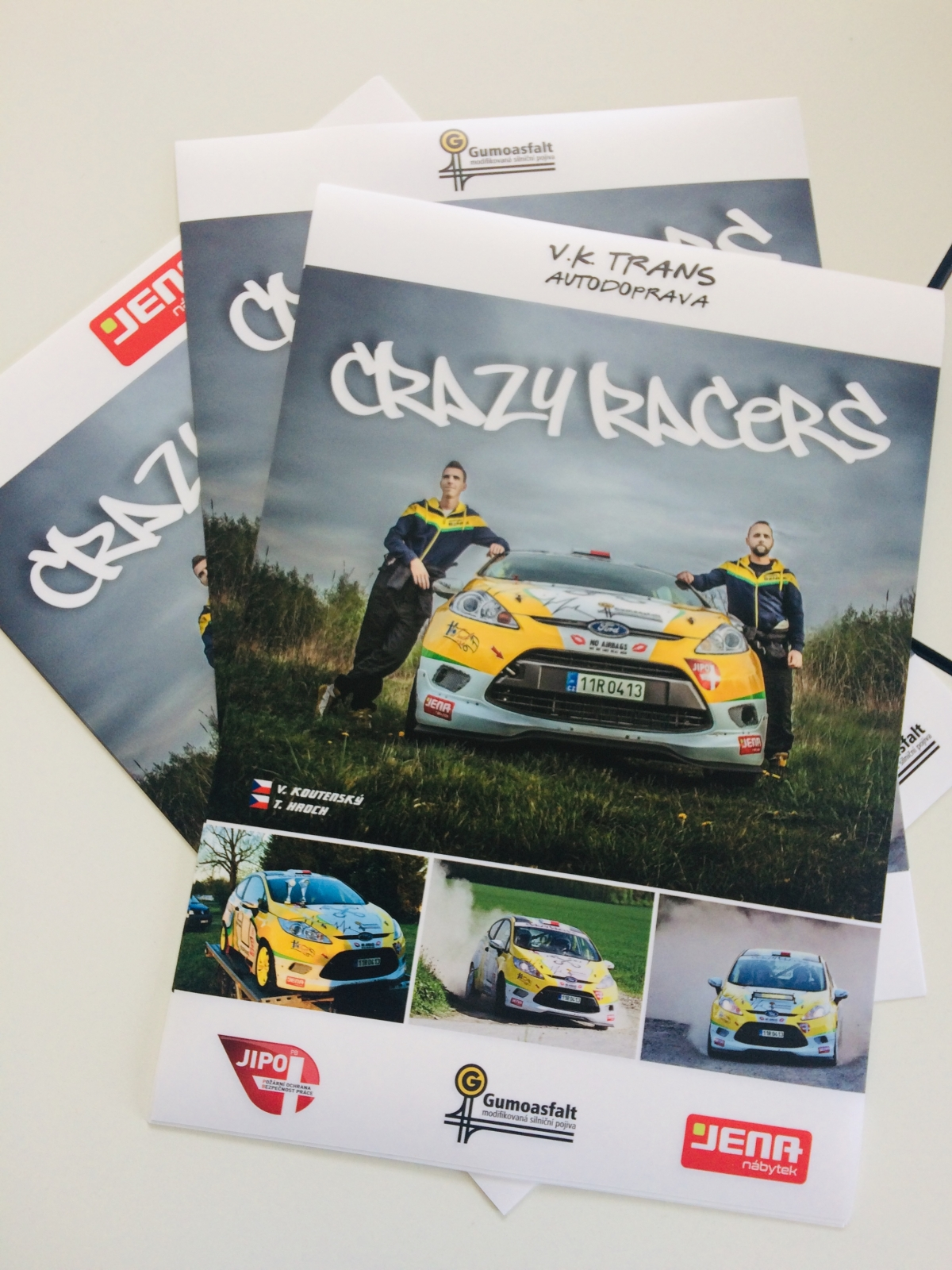 CRAZY RACERS - Plakáty CRAZY RACERS