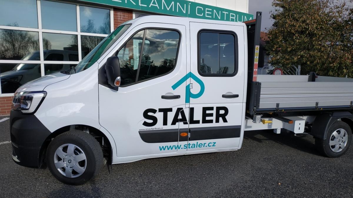 Staler  - Polep firemního vozu Renault