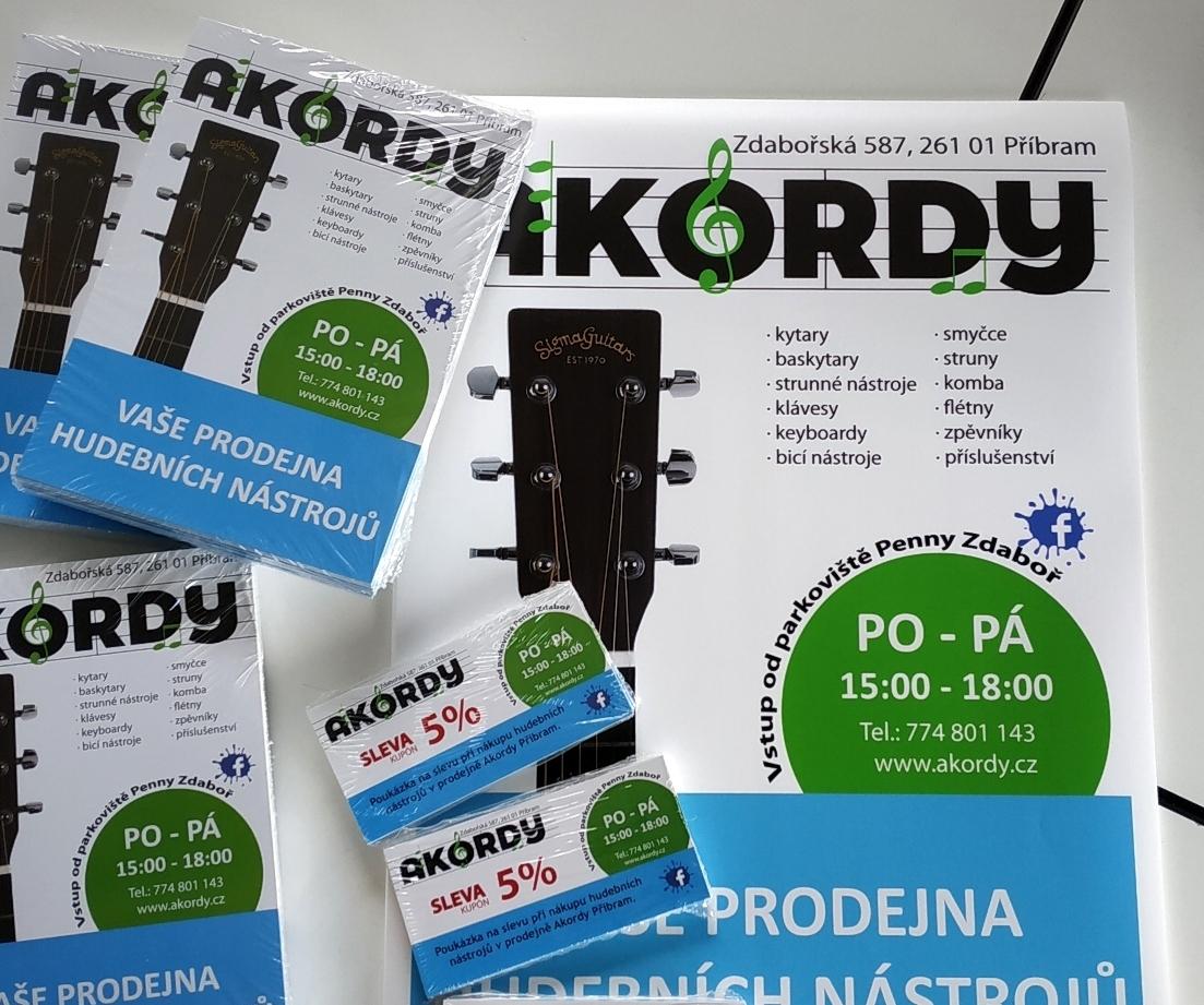 Tesort  - tiskoviny - letáky, plakáty, kupony