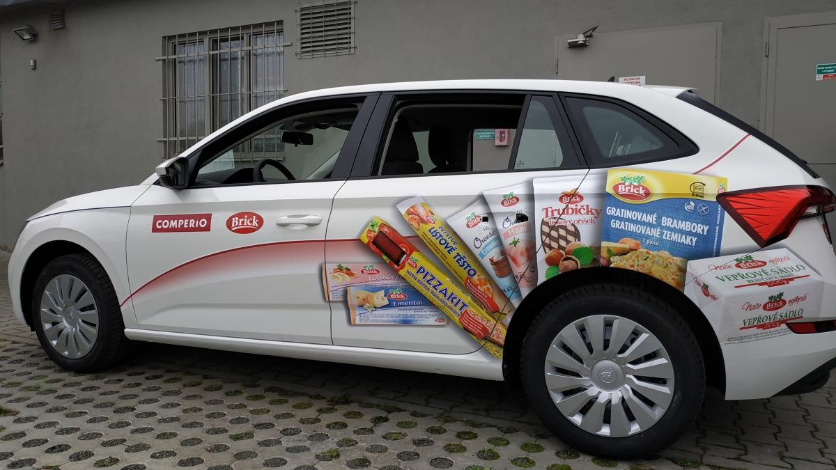 Comperio - Polep firemních vozů Škoda Scala