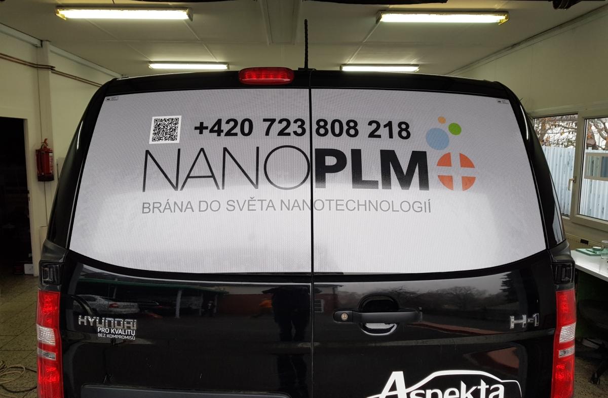 Nano PLM - Polep oken vision fólií
