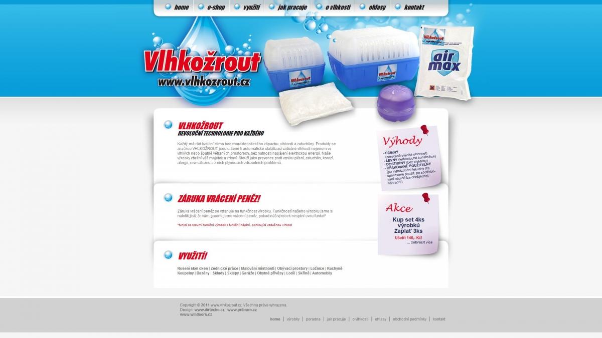 Windoor´s - Vlhkožrout - Webové stránky