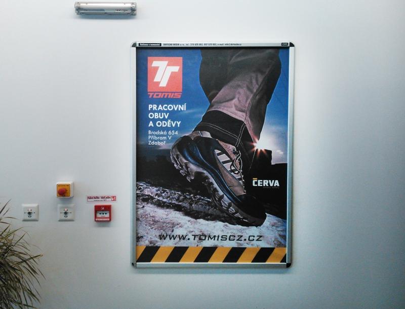 Tomis - Reklama v nemocnici