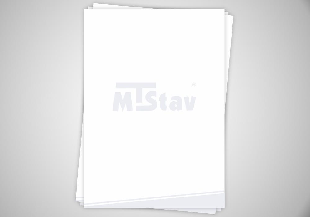 Hlavičkový papír - MTStav