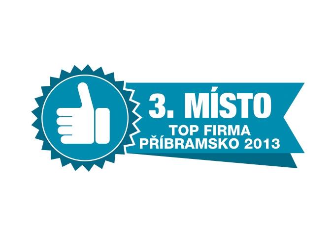 3. místo TOP Firma Příbramsko 2013