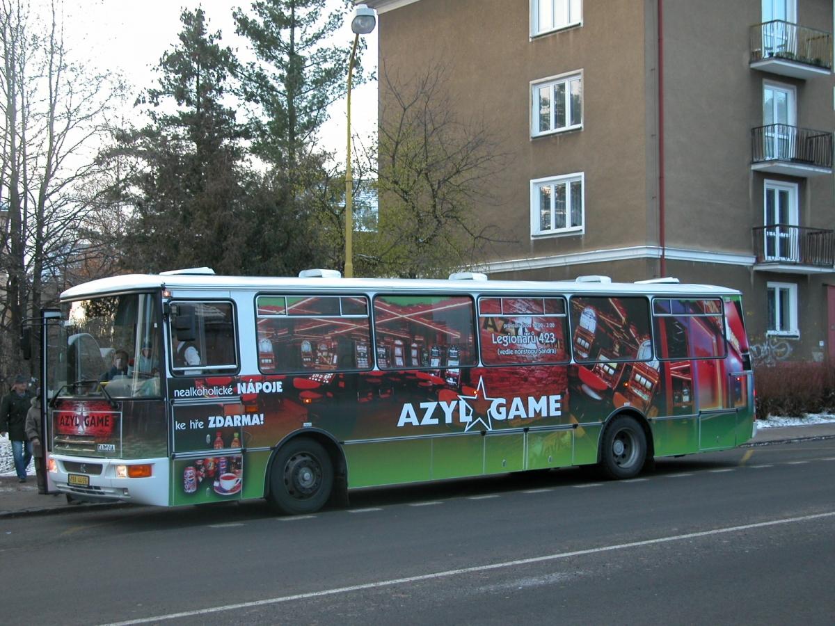 Azyl Game - Reklama na MHD - Azyl Game