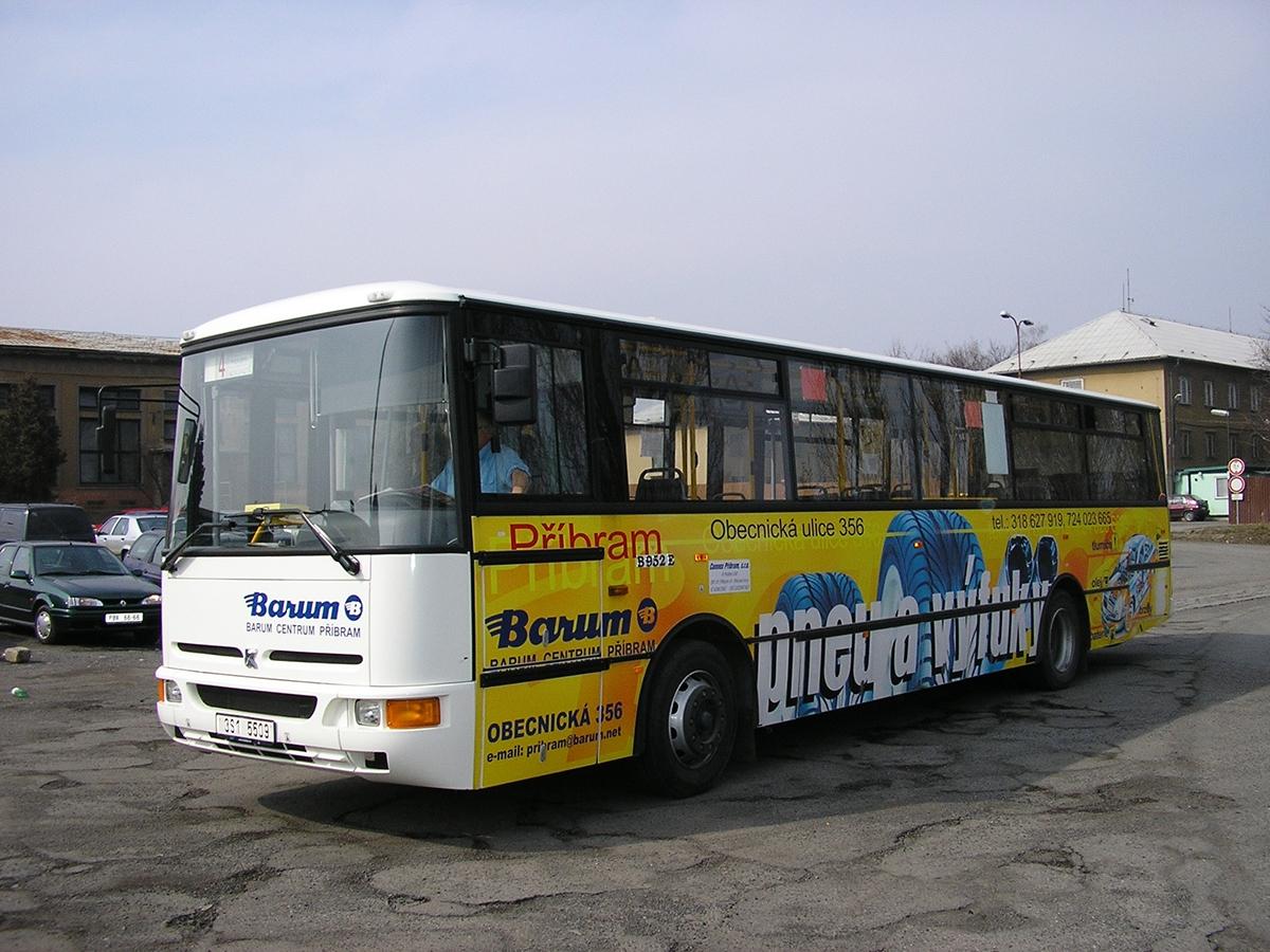 Barum - Reklama na MHD - Barum Centrum Příbram
