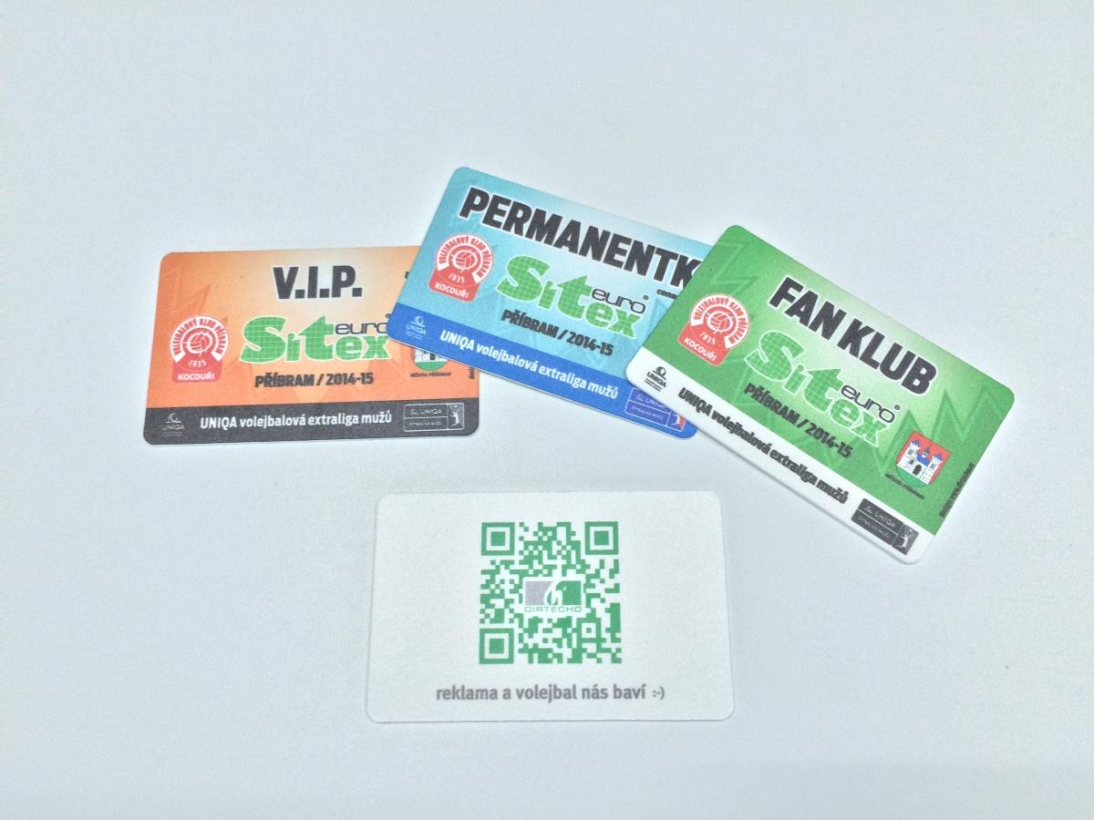 Výroba PVC karet
